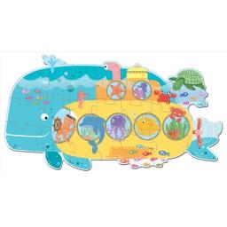 Puzzle in viaggio. Il sottomarino degli animali