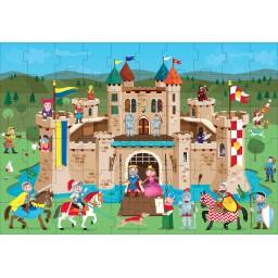 Les Chevaliers du Moyen-Age - Puzzle