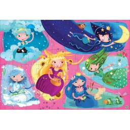 Les Princesses de la Nature - Puzzle
