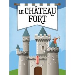 Le Château Fort 3D - Livre
