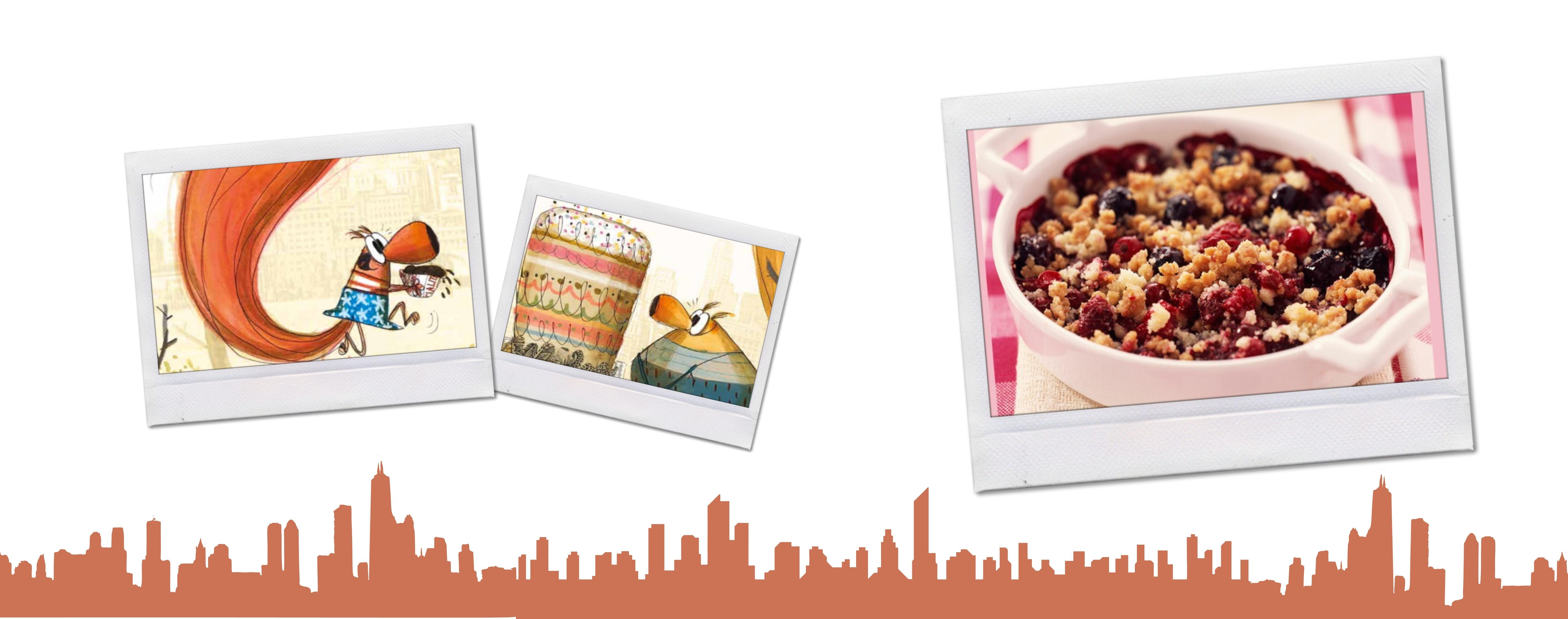 Cuisine avec Pina ! - La recette du Crumble aux fruits rouges