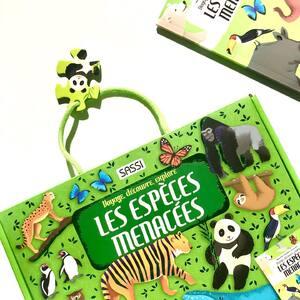 🐼Lis et émerveille toi avec SASSI Junior🐼  🌐Disponible sur notre site internet sassijunior.fr 🌐et dans vos magasins de jouets🤖 et librairies 📚préférés      #sassijunior #sassijuniorfrance #livrejeunesse #endengeredspecies #animaux #sauvonslaplanete #panda #sassipuzzle #especesmenacees #especeendanger #especeenvoiededisparition #puzzle #puzzle #puzzleaddict #educationpositive #jigsaw