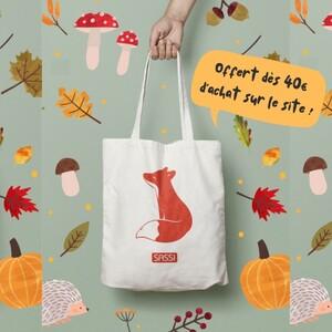 🦊En exclusivité sur sassijunior.fr ! Recevez votre Tote-Bag SASSI dès 40€ d'achat avec le code : AUTOMNE 🍂 . . . . . sassijunior.fr