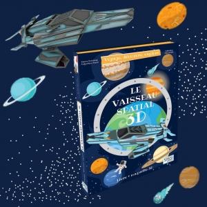 Lis et émerveille toi avec SASSI Junior 🦄   🌐 Disponible sur notre site internet http://www.sassijunior.fr et dans vos magasins de jouets et librairies préférés 🌐⠀ ⠀ #sassijunior #sassijuniorfrance #livrejeunesse #espace #vaisseau #spatial #maquette #3D #maquette3D