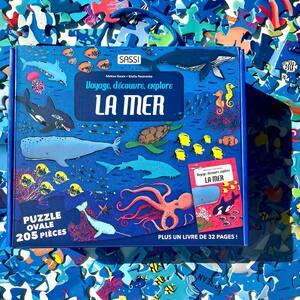Et vous combien d'Océans avez-vous déjà vu ? 🐙💦  Lis et émerveille toi avec SASSI Junior 🦄    🌐Disponible sur notre site internet www.sassijunior.fr, vos Magasins de jouets 🤖 & librairies préférés📚      #sassijunior #sassijuniorfrance #puzzle #animaux #mer #oceans #livresjeunesse #livresenfants #oceanday #books #dolphins   @aquarium_de_paris  @tahititourisme @sealifeparisvaldeurope