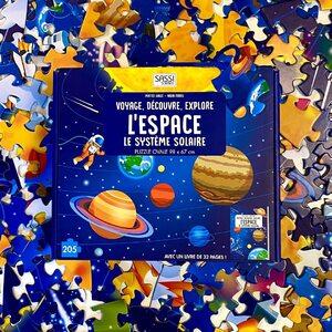 Lis et émerveille toi avec SASSI Junior 🦄   🌐 Disponible sur notre site internet http://www.sassijunior.fr et dans vos magasins de jouets et librairies préférés 🌐⠀ ⠀ #sassijunior #sassijuniorfrance #livrejeunesse #puzzle #systeme #solaire #nasa #elonmusk #fusée #book #soleil #sun #espace #space #planete #saturn #astrologie #astronaute @thom_astro