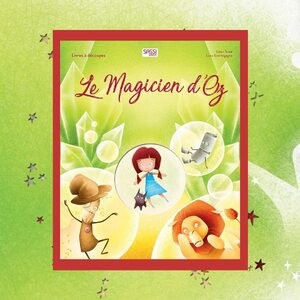 🌐 Disponible sur notre site internet http://www.sassijunior.fr et dans vos magasins de jouets et librairies préférés 🌐⠀ ⠀ #sassijunior #sassijuniorfrance #livrejeunesse #livre #magicien #oz 