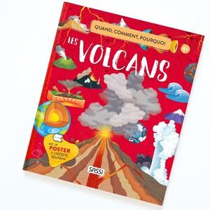 Notre planète est parsemée de volcans 🔥 Tous sont comme de fascinante fenêtre à travers lesquelles nous pouvons observer le fonctionnement de la terre 🌍 . . . . . . #volcan #decouverte #lecture #lecturejeunesse #livre #atlas #livrejeunesse #sassi #sassijunior #education