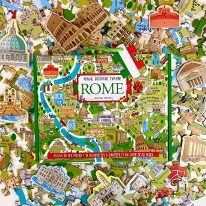 Lis et émerveille toi avec SASSI Junior 🦄   🌐 Disponible sur notre site internet http://www.sassijunior.fr et dans vos magasins de jouets et librairies préférés 🌐⠀ ⠀ #sassijunior #sassijuniorfrance #livrejeunesse #rome #voyage #puzzle #découvre #explore