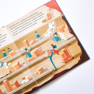 Qu'est-ce qu'il se passe dans le ciel ?  Découvrez De Plus en Plus haut, l'histoire d'une livraison impossible ! . . . . . . #livrejeunesse #albumillustré #lectureenfant #sassi #sassijunior #livre #livreenfant